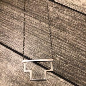 Silpada Echelon Sterling Silver Necklace